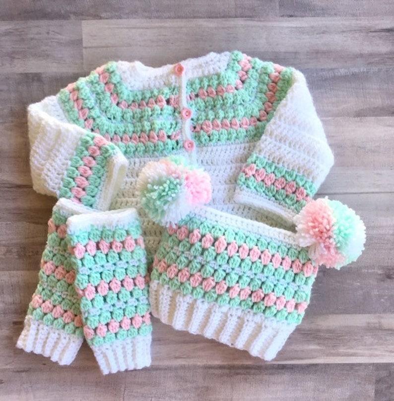 bda6ca4ee Baby infant toddler Girl Sweaters Girls Baby Shower Gift