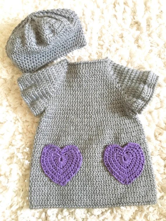 Crochet Baby Dresses Toddler Dresses Boho Kids Baby Dress Etsy