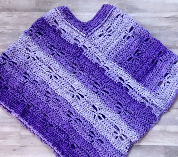 Dragonfly Poncho, Little Girls Ponchos, Baby Girls Sweaters, Toddler Baby  poncho, baby car seat cover
