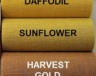 LAST CHANCE - clearance - close out -  SUNFLOWER burlap runners