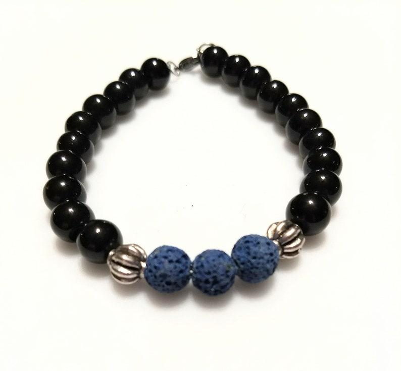 Womens lava bracelet  diffuser bracelet image 0