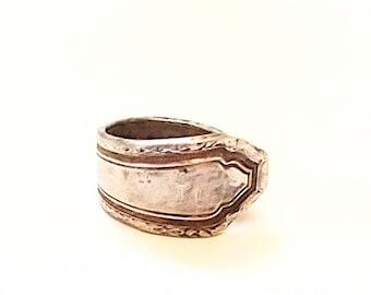 Flatware ring - silverware jewelry - spoon ring