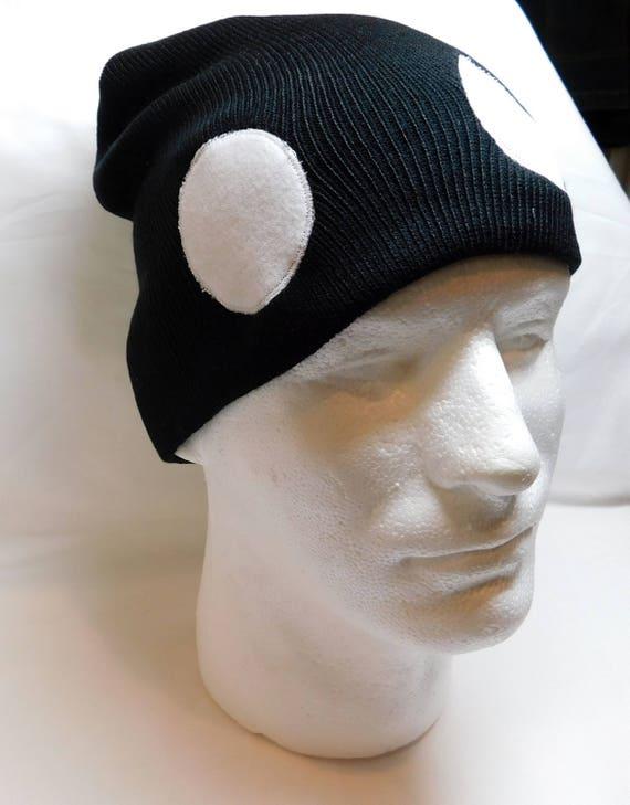 594549a9cf6 Pokemon Dark Team Skull Symbol Skullcap Hat Grunt Character
