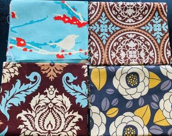 Fabric Destash - Joel Dewberry Assorted  - 4 FQs
