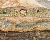 Mosaic Gold Glitter Glass...