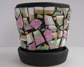 Mosaic Small Flower Pot B...