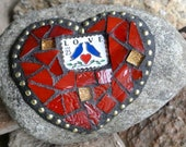 Valentine Mosaic Red Love...