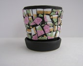 Mosaic Small Flower Pot B...