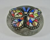Mosaic Glass Butterfly Ro...