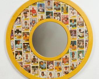 1981 Fleer Baseball Cards - mirror frame