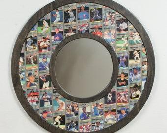 1989 Fleer Baseball Cards - mirror frame