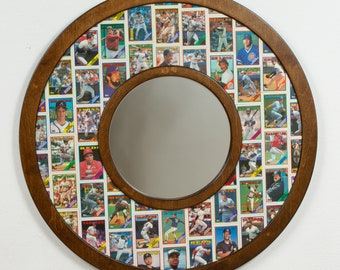 1988 Topps Baseball Cards - mirror frame