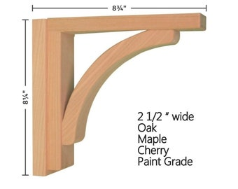 Corbel - Cove 8 for Countertops and Shelves by Tyler Morris Woodworking