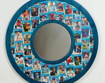 1987 Fleer Baseball Cards - mirror frame