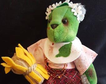 Zombie Hippie/Flowerchild Bear