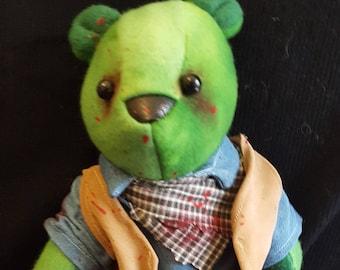 Zombie Cowboy Bear
