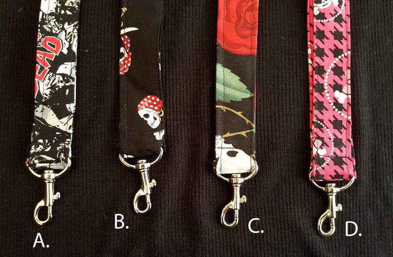 Fabric Lanyard/ID Badge Lanyard image 0