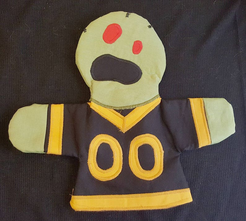 Zombie Pittsburgh Yinzer Puppet image 0