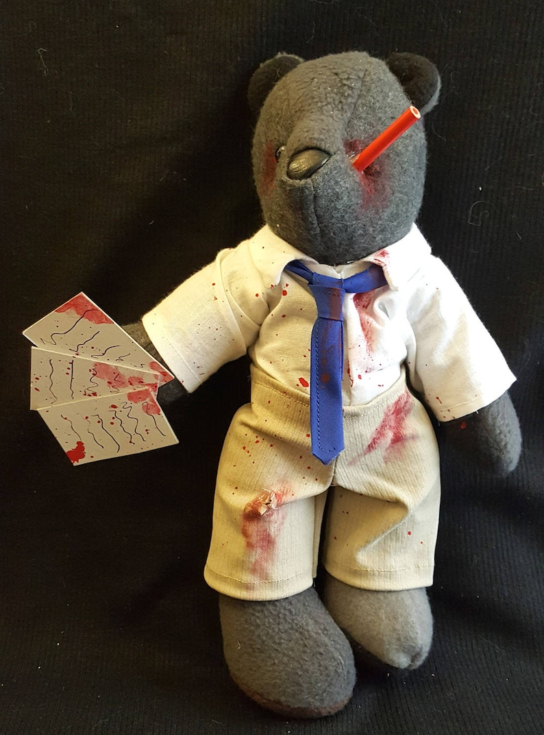 Zombie Accountant/Business Bear image 0