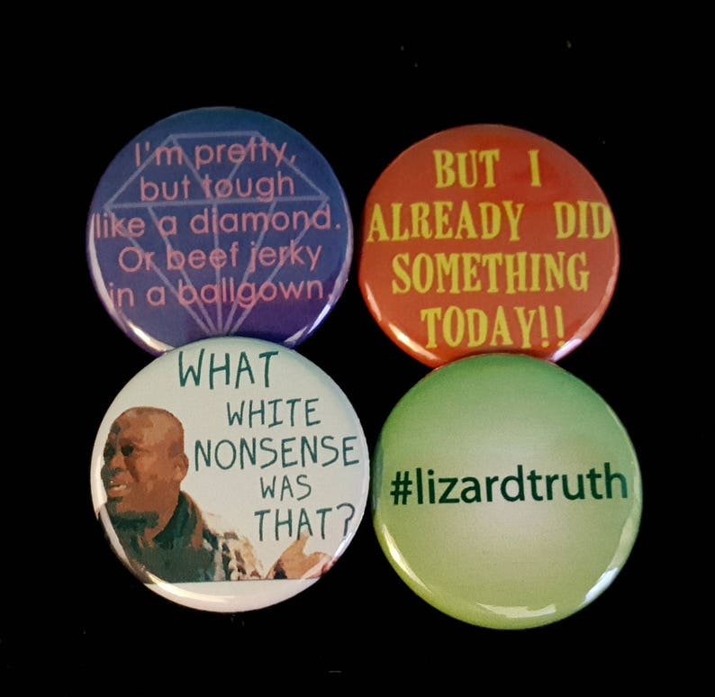 Titus Andromedon Pin  CHOOSE ONE  Kimmy Schmidt image 0