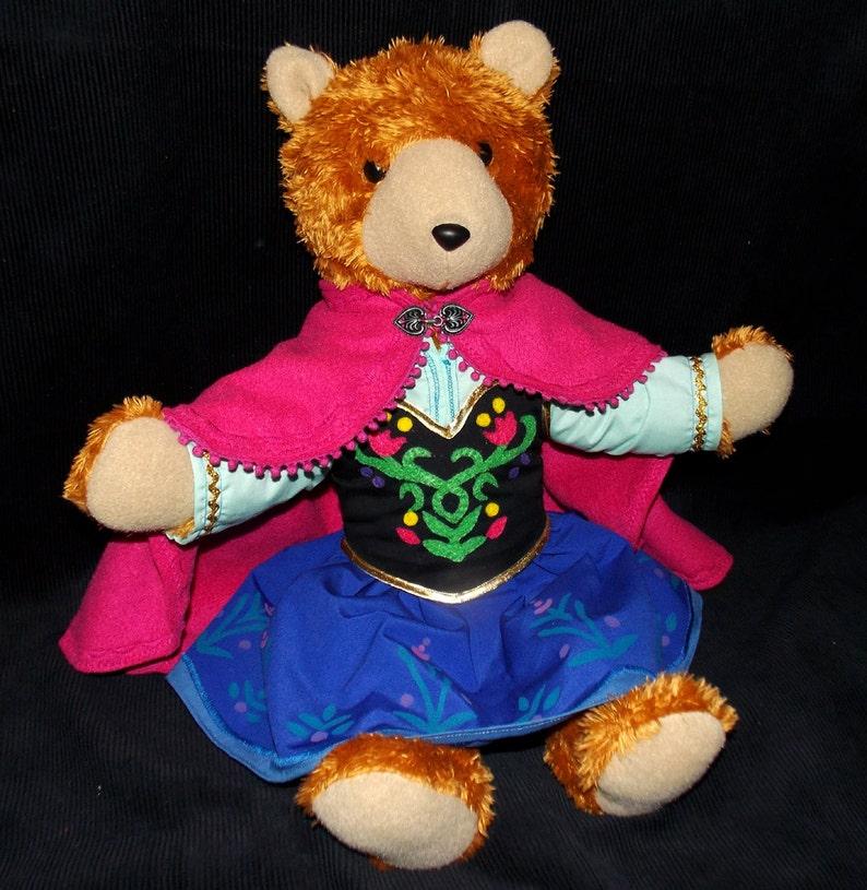 Frozen Anna Handmade Teddy Bear image 0