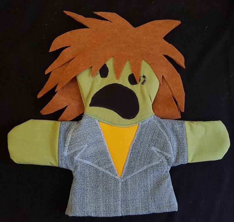 Zombie Mulletman Puppet image 0