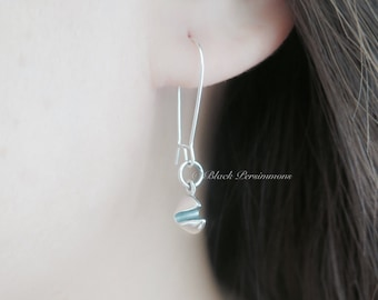 Fortune Cookie Earrings - Solid 925 Sterling Silver - Insurance Included