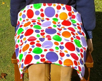 Weighted lap blanket, choose from 100s of fabrics, 50 x 50 cm lap pad, 1 kg to 3.5 kg