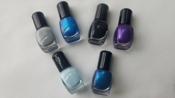 Nail Polishes Blues and more