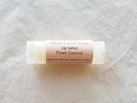 Fresh Coconut Herbal Lip Balm