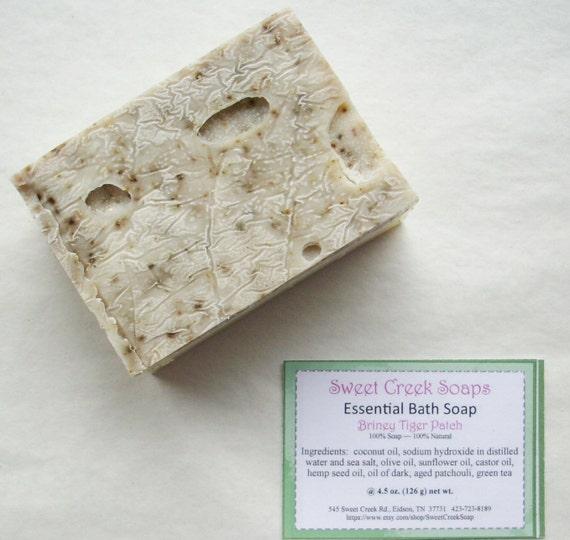 Tiger Patch Bath Soap