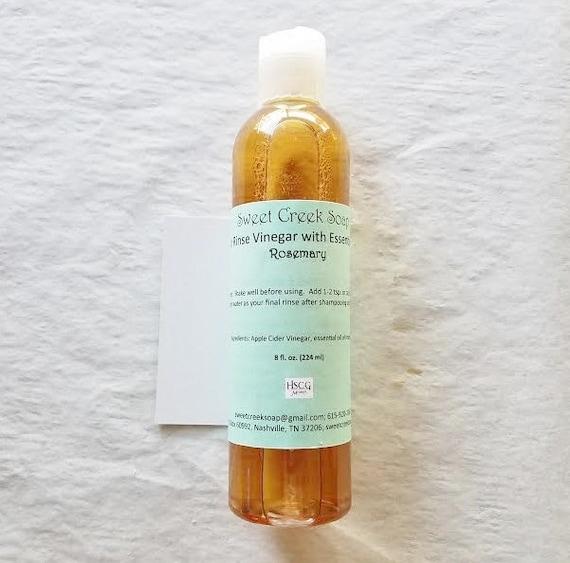 Vinegar Hair Rinse, Rosemary