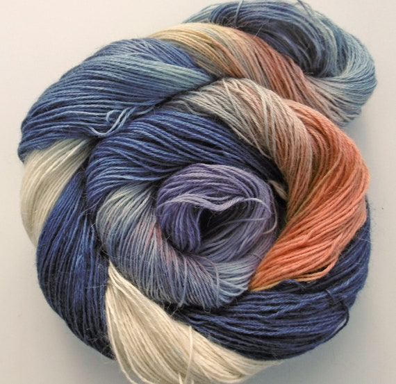 Baby Alpaca 4ply sock Yarn Moonlight Mysteries Elvincraft Hand Painted