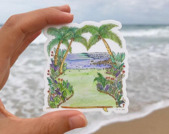 Costa Rica Vinyl Stickers Ishkabibbles