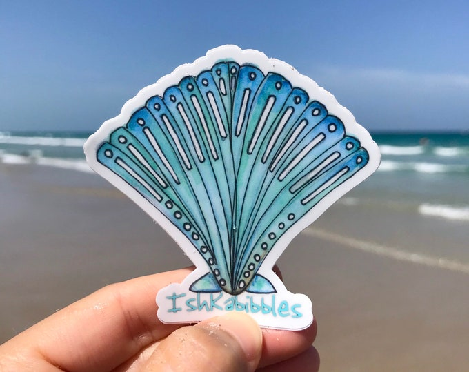 Seashell Vinyl Stickers Ishkabibbles