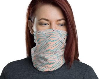 Face Mask Neck Gaiter Palm Print