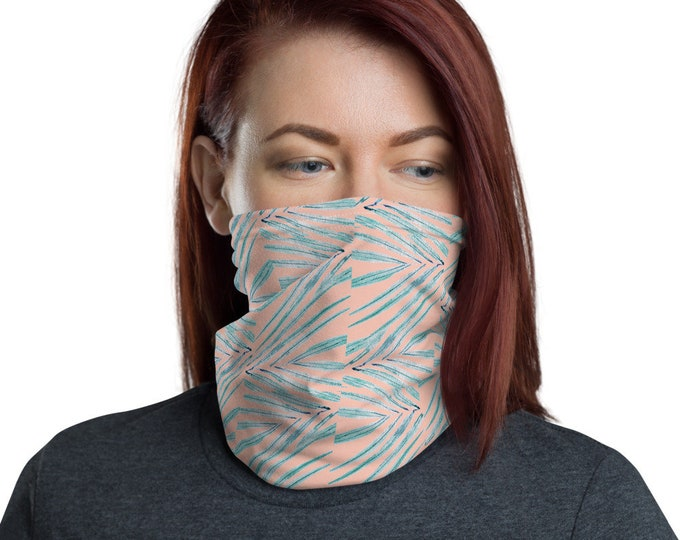 Face Mask Neck Gaiter Palm Print