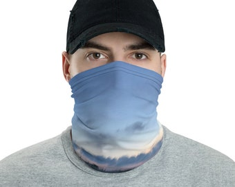 Mens Face Mask Neck gaiter Gilgo Swell