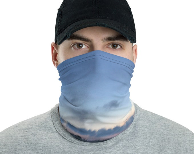 Mens Face Mask Neck gaiter Gilgo Swell