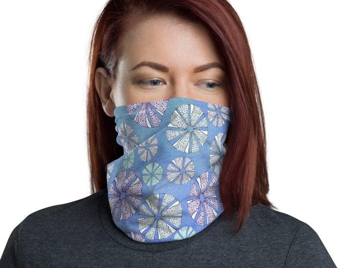 Face Mask Neck Gaiter Sea Urchin Print