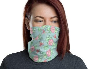 Face Mask Neck gaiter Floral Print