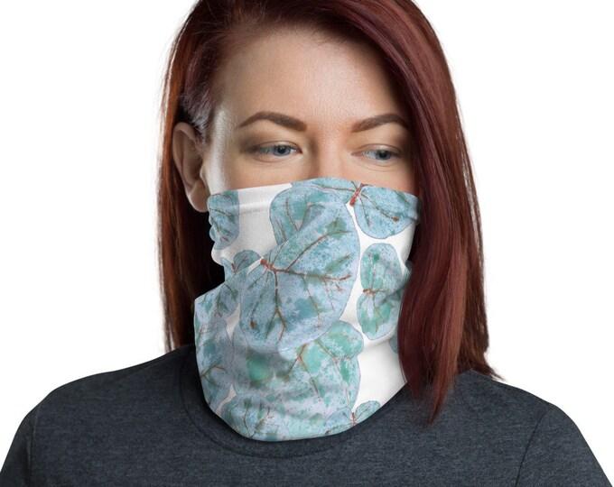 Face Mask Neck Gaiter Sea Grape Print