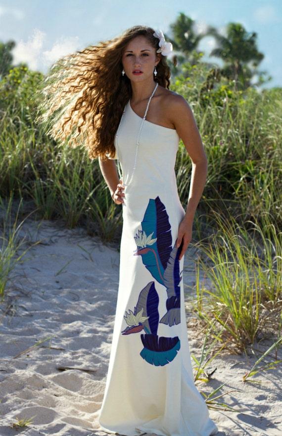 The Most Beautiful Hawaiian Wedding Dress Design Etsy