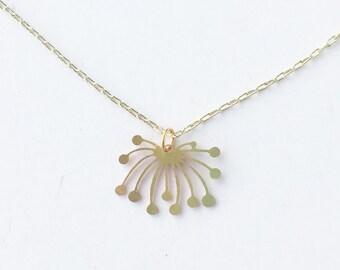 Dandelion Fluff Necklace | ATL-N-136