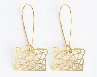 Oregon Geometric Earrings | ATL-E-222