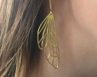 Insect Wing Earrings | ATL-E-139