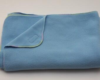 Fleece Baby Blanket - Blue
