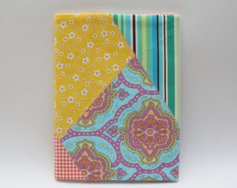 Notebook Cover - Amy Butler Charm Fabric (Marble Composition Notebook Included)