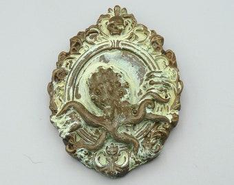 Forgotten Elder God - Cthulhu Mythos Mini Plaque in Cold Cast Bronze