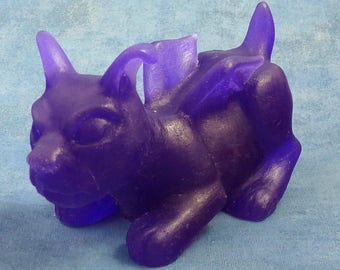 Purple Puppercabra - Resin Creature Sculpture